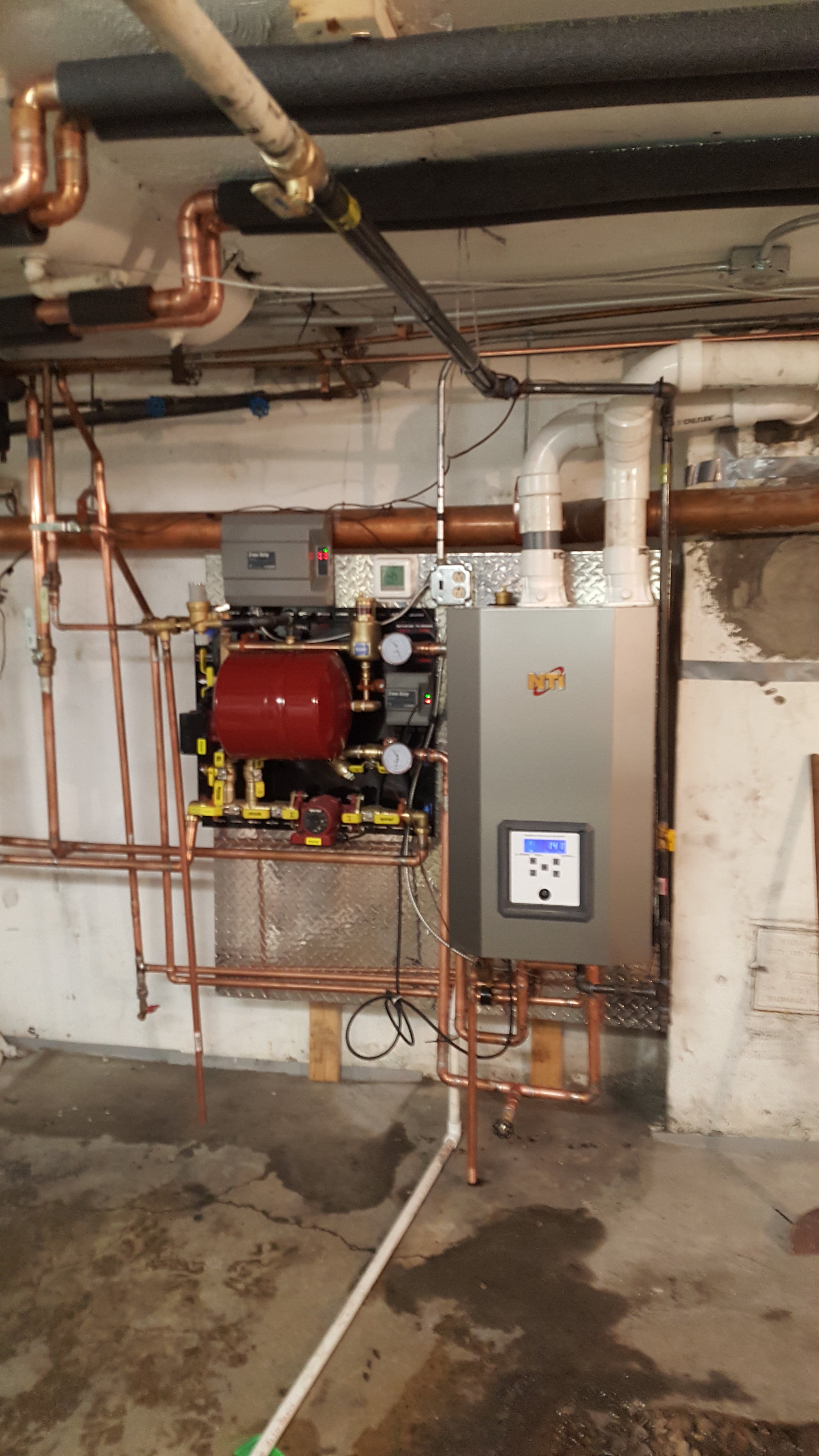 A Custom Heating And Air Conditioning Nti Trinity Boiler